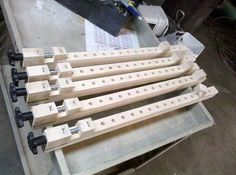 Shop-made Bar Clamps