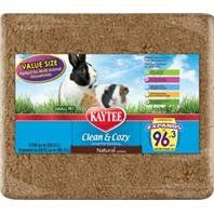 Kaytee Products 529145 Clean And Cozy Small Pet Bedding - Natural, 1728 cu. in.