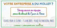 Venez courir pour le #climat ! @EntrepreneurAv @Mc_Lanne @JMBorello @Mouves_ES @GroupeSOS http://bit.ly/1Iem3uP