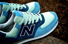 online store e82a4 3e29a Angel Gonzalez aka Vagrant sneaker was pleased last month with the New  Balance 574 wearing blue