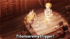 Every time someone mentions Titan I do this...... I wonder why I have no friends....