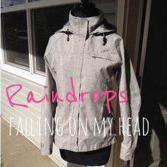 "Selling this ""REI elements grey raincoat, XS"" in my Poshmark closet! My username is: kmadeoy. #shopmycloset #poshmark #fashion #shopping #style #forsale #REI #Jackets & Blazers"