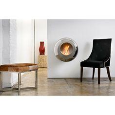 Singular diseño ultracontemporáneo en esta chimenea de bioetanol creada por el diseñador Federico Otero para la firma Cocoon Fires.