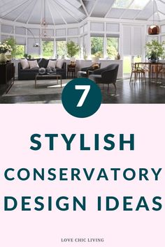 7 easy steps to perfect conservatory design. Get the perfect conservatory inspiration for your next interior design project. Here are some easy steps to creating your own stylish conservatory. Design a summer retreat within your own home or bring the garden inside. Single Storey Extension, Conservatory Design, Best Blinds, Roof Window, Interior Design Kitchen, Home Renovation, Extensions, Home Improvement, Home And Family
