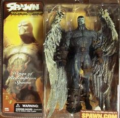 Mcfarlane Toys Spawn Series 21 Wings of Redemption Spawn by mcfarlane toys. $30.00. spawn wings of redemption action figure. mcfarlane toys- Spawn Wings of Redemption Spawn action figure package is in great cond.action figure looks amazing