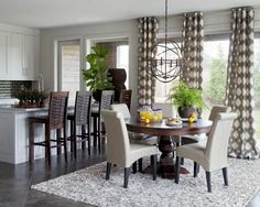 How To DIY Cheap, Classy Looking Window Treatments // yesandyes.org