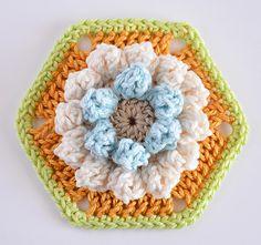 Madeleine Hexagon Pincushion a new step-by-step pattern
