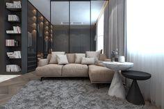 Agnieszka Konieczna on Behance Classic Interior, Behance, Interior Design, Dom, Modern, Furniture, Home Decor, Nest Design, Vintage Interiors