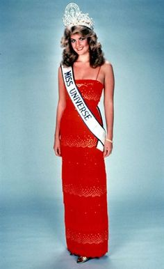 Miss UNIVERSO 1981 VENEZUELA Irene Saez, 19 AÑOS