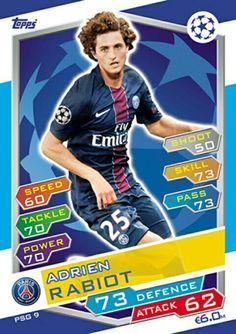 Adrien Rabiot of Paris St Germain & France in 2016.