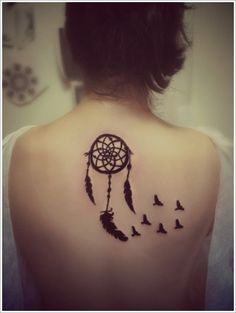 I think i need a Dreamcatcher Tattoo, to capture some dreams. Designs (26)