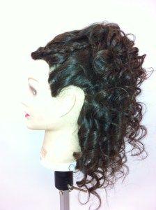 side single ponytail half updo Half Updo, Updos, Ponytail, Wedding Hairstyles, Dreadlocks, Hair Styles, Beauty, Up Dos, Hair Plait Styles
