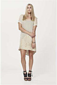 amble dress - silk/ rayon /nylon dress week :