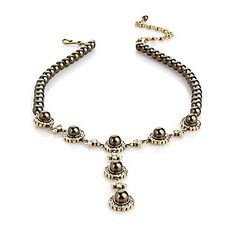 "Heidi Daus ""Simply Stated"" Pearl Y-Drop Necklace"