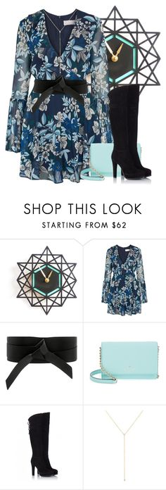 """""""About Time"""" by my-style-xo ❤ liked on Polyvore featuring Decoylab, Keepsake the Label, IRO, Kate Spade, Fratelli Karida, ZoÃ« Chicco, floral and shortdress"""