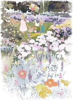 Aya Takano, Small Canvas Art, Pastel Art, Cute Illustration, Anime Art Girl, Cool Artwork, Painting Inspiration, Cute Art, Artsy