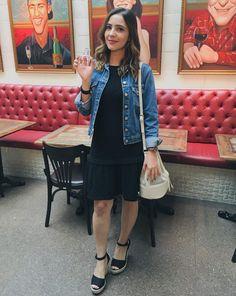 No lançamento do perfume Jolie Femme da Jequiti usei: vestido Mixed para C&A, bolsa saco Blueman para C&A e sandália Carrano.