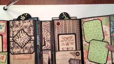 Graphic 45 Tropical Travelogue Gatefold Mini Album. My sisters scrapper