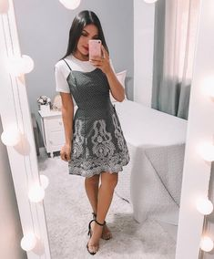 ZAFUL offers a wide selection of trendy fashion style women's clothing. Affordable prices on new tops, dresses, outerwear and more. Church Outfit For Teens, Cute Church Outfits, Outfits For Teens, Modest Wear, Modest Dresses, Modest Outfits, Skirt Outfits, Modest Clothing, Muslim Fashion
