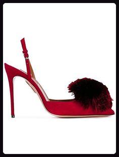 Kevin Fashion Damen Modische Hochzeitsschuhe Rot Rojo Rojo