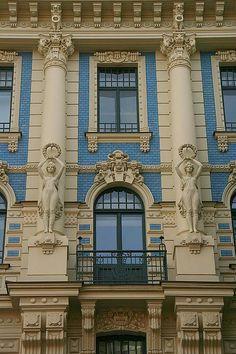 Riga Art Nouveau ... Latvia ... Book & Visit LATVIA now via www.nemoholiday.com or as alternative you can use latvia.superpobyt.com .... For more option visit holiday.superpobyt.com...