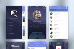 FREE iOS UI Kit  By Johan Nayar