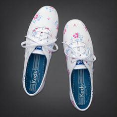 Bettys Hollister + Keds Champion Floral Print Sneakers | Bettys Hollister + Keds | HollisterCo.com