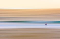 Lone Swimmer Entering Surf at Dawn_P by Toptruck - Image of the Year Photo Contest 2016