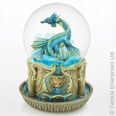 Earth Dragon Water Globe
