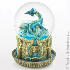 Earth Dragon Water Globe