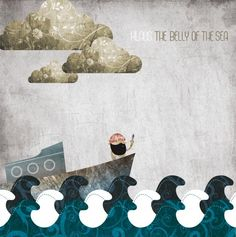 Belly of the Sea Album design by Nick Paul