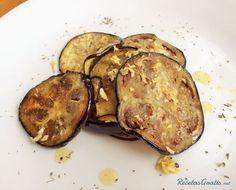 Berenjena al ajillo Vegan Vegetarian, Vegetarian Recipes, Healthy Recipes, Healthy Food, Dominican Food, Eggplant Recipes, I Foods, Great Recipes, Side Dishes