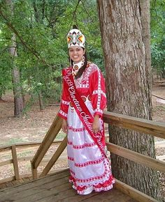 Choctaw Indian Princess, 2009 - Princesses serve as a goodwill ambassador for the tribe for one year.
