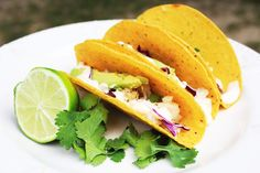Fish Tacos with Garlic Lime Aioli #tacotuesday