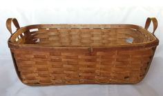 Primitive Basket Extra Large Laundry Gathering by BeeHavenHome