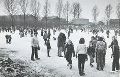 ijsbaan Zevenbergen beginjaren 70