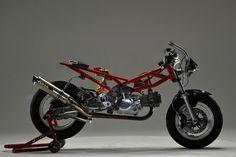 Rocketumblr | Honda Monkey Custom Over Racing OV-29