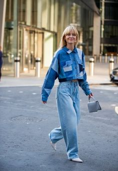 Summer Fashion Tips The Best Street Style At London Fashion Week Fashion Tips The Best Street Style At London Fashion Week Seoul Fashion, Denim Fashion, Fashion 2020, Fashion Outfits, Fashion Trends, London Fashion, Fashion Fashion, Korea Fashion, Japan Fashion