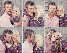Cute and Quirky Engagement Photos with a couple with great chemistry