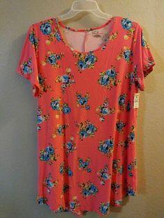 3X Plus Size Bobbie Brooks Woman/'s Paisley Print Super Soft Wrap Dress