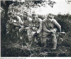 A Kertész. Behind the lines, Poland 1915