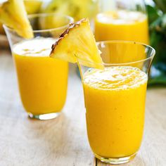 Ahhhh...take a sip of the refreshing tropical flavored smoothie. Banana Pineapple Coconut Smoothie Recipe from Grandmothers Kitchen.