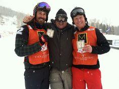Seth Wescott, Gordy Johnson, Nate Holland Telluride, Colorado, #TellurideWC, World Cup, Skiing, Snowboarding, FIS