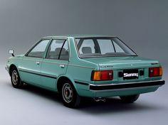Nissan Sunny Sedan (Tsuru 1984).