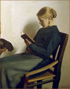 Michael Peter Ancher [Danish Impressionist Painter 1849 - 1927]