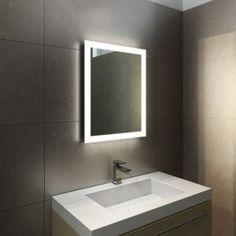 Halo Tall LED Light Bathroom Mirror 1416