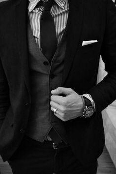 gotta get him a vest men styles, guy, suit, men fashion, style men, awwww man