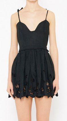 Boutique Valentino Black Dress