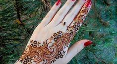 Simple Arabic Mehndi Designs For Hands Step By Step Easy  #ArabicMehndi #BridalMehndi #IndanMehndi #PakistaniMehndi