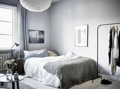 If your teen is into cool tones, this #bedroom design is a perfect fit